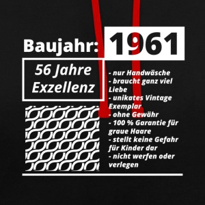 Year of construction 1961 - Contrast Colour Hoodie