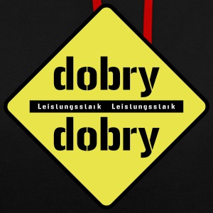 dobry - Sweat-shirt contraste