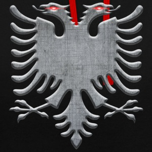 Albanian eagle iron - Contrast Colour Hoodie