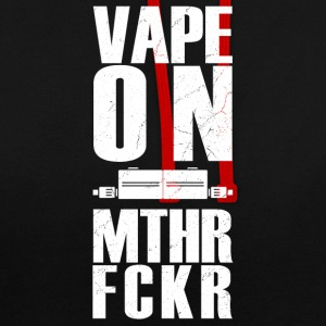 vape sur MTHR fckr - la conception de l'évaporateur vaping - Sweat-shirt contraste