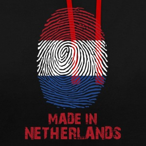 Drapeau Pays-Bas - Made in Holland - Cadeau - Sweat-shirt contraste