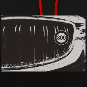300 grille km / h - Sweat-shirt contraste