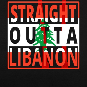 Straight Outta LIBAN - Sweat-shirt contraste
