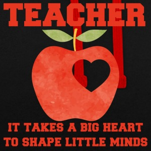 Teacher / School: Teacher - It Takes A Big Heart To - Contrast Colour Hoodie