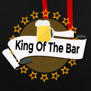 King of the Bar - Sweat-shirt contraste
