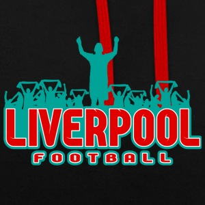 le football Liverpool - Sweat-shirt contraste