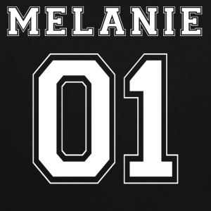 Melanie 01 - White Edition - Contrast hoodie
