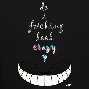 Alice crazy cat - Sweat-shirt contraste