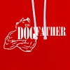 The dogfather - Contrast Colour Hoodie
