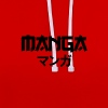 manga blck - Sweat-shirt contraste