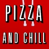 Pizza and chill - Contrast hoodie