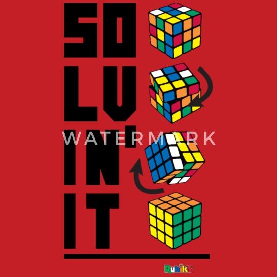 superior quality sleek shopping Rubik's Cube Solvin' It Sweat à capuche contrasté unisexe ...