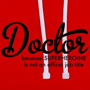 Doctor - Contrast Colour Hoodie