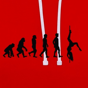 Evolution Pole Dance - Sweat-shirt contraste