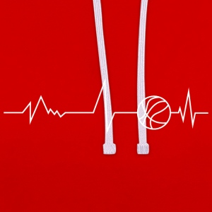 Basket vie - Sweat-shirt contraste