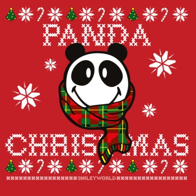SmileyWorld Weihnachten Panda Christmas