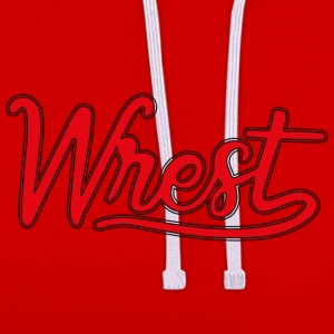 Logo Wrest - Sweat-shirt contraste