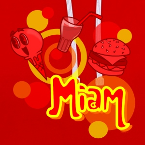 Miam ( collection aLlan ) - Sweat-shirt contraste
