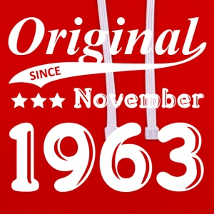 Original Since November 1963 gift - Contrast Colour Hoodie