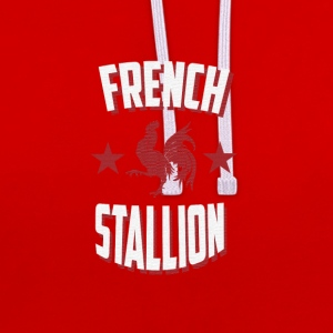 French Stallion - Contrast Colour Hoodie