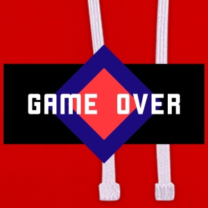 Game Over - Contrast Colour Hoodie