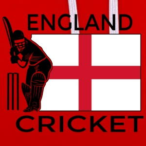 Cricket Angleterre - Sweat-shirt contraste