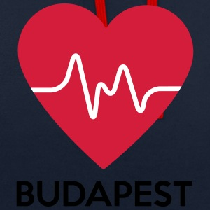 coeur Budapest - Sweat-shirt contraste