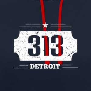 Detroit 313 - Sweat-shirt contraste
