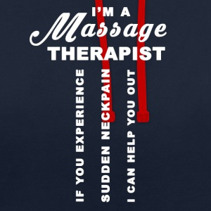 Massage Therapist - Contrast Colour Hoodie