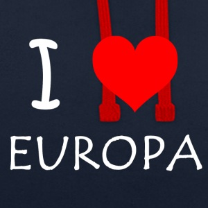 J'adore l'Europe - Sweat-shirt contraste