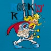 Asterix & Obelix - Troubadix Rock'n' Roll Men's T- - Contrast hoodie