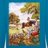 PonyTournament Thelwell Cartoon - Contrast Colour Hoodie