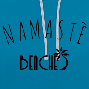 Plages Namaste - Sweat-shirt contraste