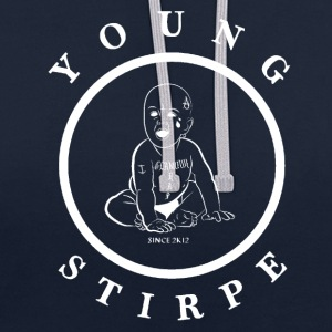 YOUNG.STIRPE - Sweat-shirt contraste