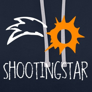 Shooting Star - Contrast Colour Hoodie