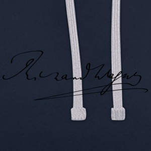 Richard Wagner signature - Sweat-shirt contraste