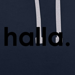 Halla - Sweat-shirt contraste