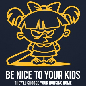Your Kids Choose Your Nursing Home Be Nice To Them - Contrast Colour Hoodie