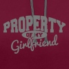 PROPERTY OF MY GIRLFRIEND - Sweat-shirt contraste