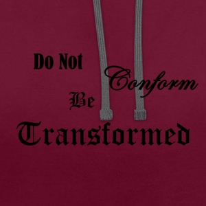 Do_Not_be_Conformed_copy - Sweat-shirt contraste