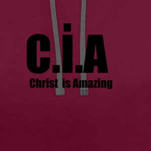 CIA - Sweat-shirt contraste