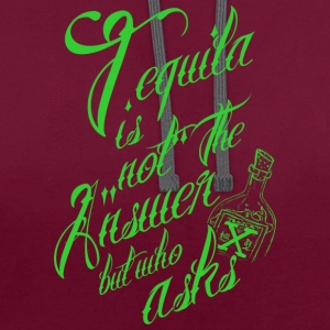 Tequila 2 - Sweat-shirt contraste