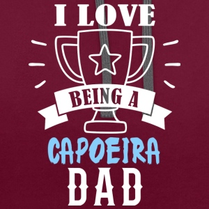Capoeira father - Contrast Colour Hoodie