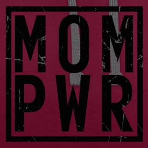 MOMPWR - Contrast Colour Hoodie