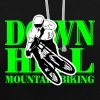 Downhill - Mountainbiking - Bluza z kapturem z kontrastowymi elementami
