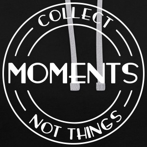 Collect Moments - Kontrast-Hoodie