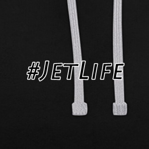 JetLife - Sweat-shirt contraste