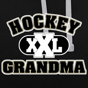 Hockey grand-mère - Sweat-shirt contraste