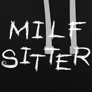 Sitter MILF - Sweat-shirt contraste
