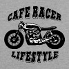 Motocycle Cafe Racer 3 - Sweat-shirt contraste